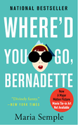 where'd you go bernadette by maria semple book review adult fiction novel book reviews comedic novel mystery